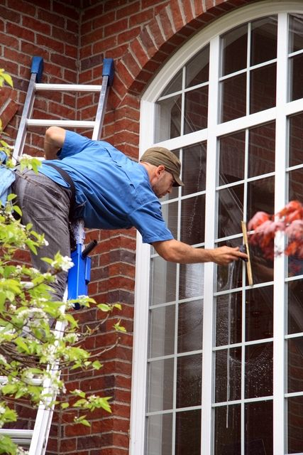 Cleaning Windows Katy