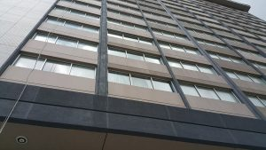 High rise and Commercial window cleaning in Houston.