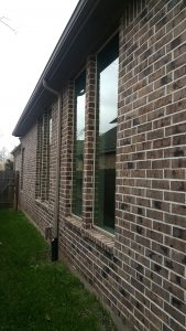 Upscale window washing in Katy, Texas