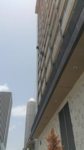 Downtown Houston High-Rise Window Cleaning